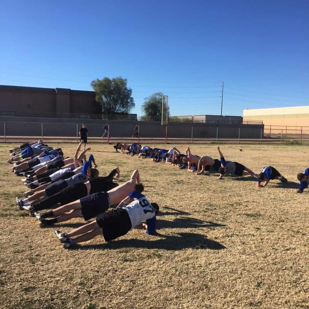 The side plank struggle mesquite baseball optfamily responsibility discipline champions
